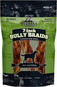 Red Barn Bully Sticks Redbarn Naturals Braided Bully Sticks 7