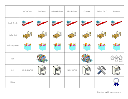 a house of order printable chore charts the creative mom