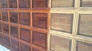 Painting Aluminum Garage Doors by Garage Door Restoration And Refinishing Youtube