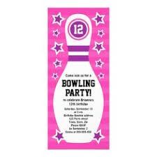 bowling birthday party invitations free templates oxsvitation com
