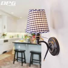 Contemporary Bedroom Wall Sconces Online Get Cheap Fabric Shade Wall Sconce Aliexpress Com