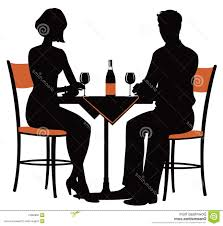 dinner silhouette hd dinner clipart design