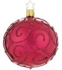 inge u0027s christmas decor golden nik glass ornament christmas decor