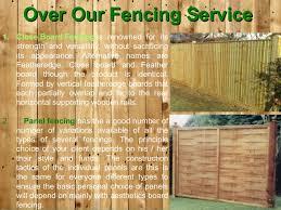 Types Of Garden Fences - garden fencing north london make gardening fast and effortless