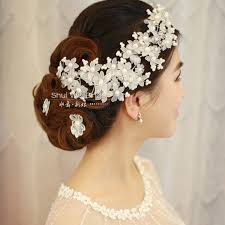 bridal hair accessories list wedding hair accessories ivory by