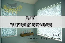 Make Your Own Roller Blinds How To Make Fabric Roller Shades Craft Blog