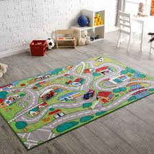 Playroom Area Rug Room Decorated With Worth Theme Children