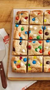 sugar cookie m u0026m u0027s bars recipe colorful candy sugar cookies