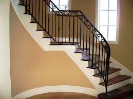 the advantages of iron stair railing house exterior and interior