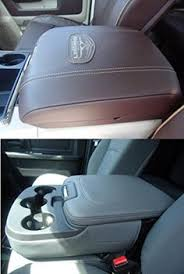 dodge ram center console cover truck center arm rest console cover embroidered for all ram