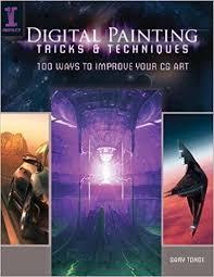 amazon com digital painting tricks u0026 techniques 100 ways to