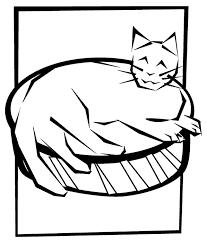 cute cat coloring crayola