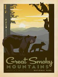 Tennessee travel posters images Anderson design group studio store 11x14 for baby gibson jpg