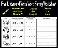 free u0027ap u0027 word family worksheets and literacy center activities