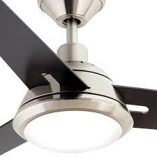wifi enabled ceiling fan gardinier 52 in led brushed nickel ceiling fan amazon com