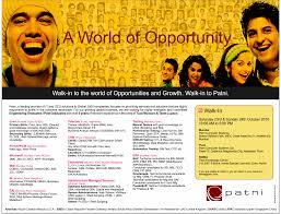 Obiee Openings In Singapore Jobs In Patni Vacancies In Patni Opportunities At Patni Jobs At