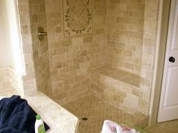brick set travertine shower photo this photo was uploaded by