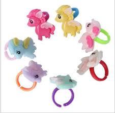 toy finger rings images 2018 my little pony finger rings for kids children rings plastic jpg