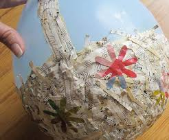 paper mache easter baskets eco friendly easter crafts for kids