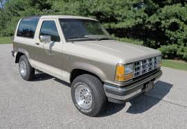 1989 ford bronco ii xlt 4x4 youtube