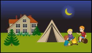 Backyard Cartoon Backyard Camping Clipart Backyard Clip Art Library