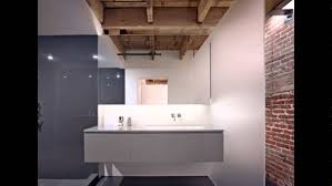 stylish bathrooms with brick walls and ceilings youtube