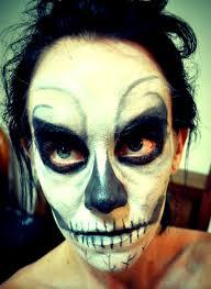 Halloween Skull Makeup Tutorial Spark And Fizzle Halloween Skull Makeup Tutorial