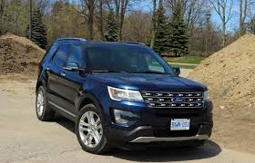 ford explorer price canada suv review 2017 ford explorer limited driving