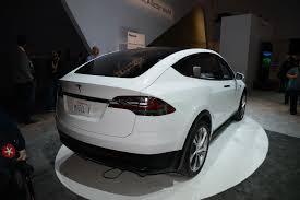 tesla model s concept tesla model x crossover the gullwing electric suv is here by car