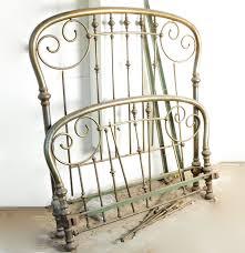 Antique Metal Bed Frame Antique Brass Bed Frame Ebth
