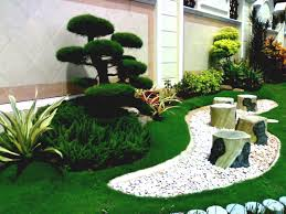 Front Of House Landscaping by Simple Garden Design Front Of House Landscape Ideas Sprawling