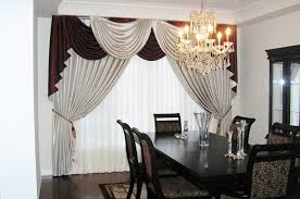 enchanting sheer curtains dining room agreeable drapes ideas