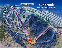 Mt Snow Trail Map Mount Snow Skimap Org