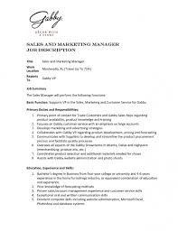 24 cover letter template for duties of sales and marketing with