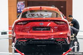 kia supercar kia stinger gt 3 3l turbo v6 previewed in malaysia image 735138