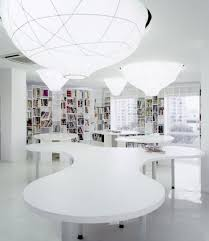 White Interior Modern Space Studio Business Gallery