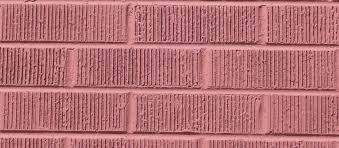 brick red wire cut painted making buildings