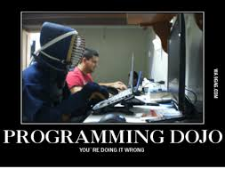 You Re Doing It Wrong Meme - programming dojo you re doing it wrong dojo meme on me me