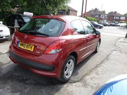 peugeot 207 red used 2010 peugeot 207 millesim hdi millesim 3dr for sale in hyde