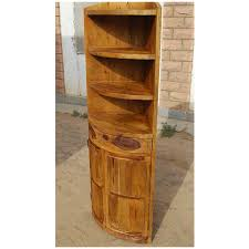 mango wood kitchen cabinets rustic mango wood circular corner kitchen cabinet