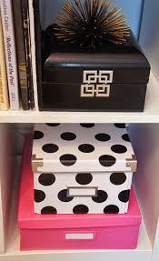 diy kate spade inspired ikea storage boxes ikea kassett hack diy