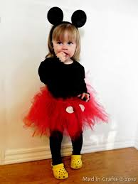 mickey mouse toddler costume girl s mickey mouse costume family crafts
