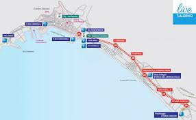 Capri Italy Map by Parking In Salerno Guarded And Public Parking