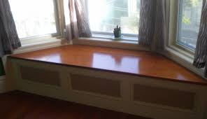 built in window bench new window niche with built in bench seat