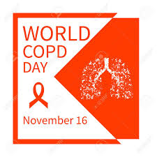 copd ribbon world copd day chronic obstructive pulmonary disease awareness