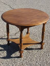 round walnut side table creative of antique round coffee table coffee table dark round