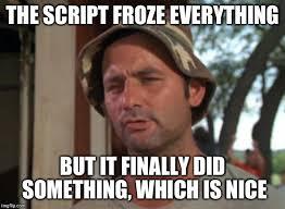 Meme Script - programming imgflip