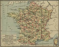 A Map Of France by Historical Maps Of France