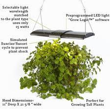 interesting led kitchen garden supporting proper herb environment