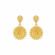 images of gold ear rings tanishq gold earrings retailer from bardhaman